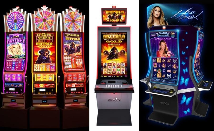 Casino scenes money room